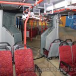 Tata Starbus Articulated seat at the Bus and Special Vehicles Expo 2015