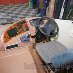 Tata Starbus Ultra SKOOL driver cabin at the Bus and Special Vehicles Expo 2015