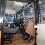 Tata Starbus Ultra SKOOL driver seat at the Bus and Special Vehicles Expo 2015