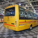 Tata Starbus Ultra SKOOL rear quarter at the Bus and Special Vehicles Expo 2015