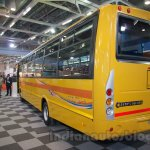 Tata Starbus Ultra SKOOL rear quarters at the Bus and Special Vehicles Expo 2015