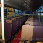 Tata Starbus Ultra SKOOL seats at the Bus and Special Vehicles Expo 2015