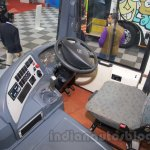 Tata Starbus Ultra driver section at the Bus and Special Vehicles Expo 2015