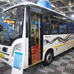 Tata Starbus Ultra front quarter at the Bus and Special Vehicles Expo 2015
