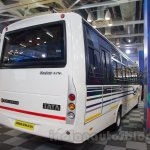 Tata Starbus Ultra rear quarters at the Bus and Special Vehicles Expo 2015