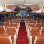 Tata Starbus Ultra seats at the Bus and Special Vehicles Expo 2015
