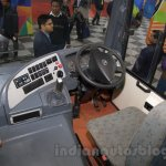 Tata Starbus Ultra steering at the Bus and Special Vehicles Expo 2015