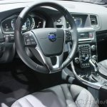 Volvo S60 Cross Country dashboard at the 2015 Detroit Auto Show