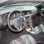 Volvo S60 Inscription dashboard at the 2015 Detroit Auto Show
