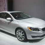 Volvo S60 Inscription front three quarters left at the 2015 Detroit Auto Show
