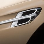 2015 Bentley Continental GTC press shot side vent