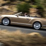 2015 Bentley Continental GTC press shot side