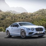 2015 Bentley Continental V8 S press shot front three quarter