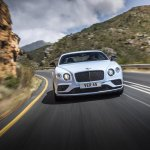 2015 Bentley Continental V8 S press shot front