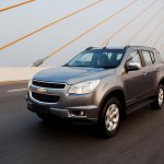 2015 Chevrolet Trailblazer front three quarter