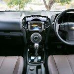 2015 Chevrolet Trailblazer interior dashboard