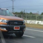 2015 Ford Ranger Wildtrack facelift front spied