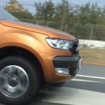 2015 Ford Ranger Wildtrack facelift headlight spied