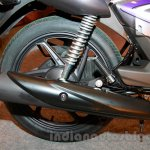 2015 Honda CB Shine DX exhaust