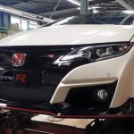 2015 Honda Civic Type R front spied