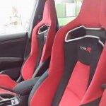 2015 Honda Civic Type R seats spied