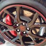 2015 Honda Civic Type R wheel spied