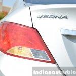 2015 Hyundai Verna diesel facelift LED effect taillight