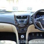 2015 Hyundai Verna diesel facelift dashboard