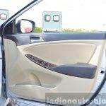 2015 Hyundai Verna diesel facelift door trim