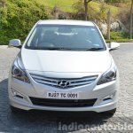 2015 Hyundai Verna diesel facelift front end