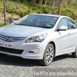 2015 Hyundai Verna diesel facelift profile shot
