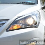 2015 Hyundai Verna diesel facelift projector headlight