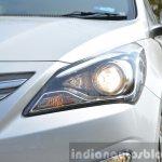 2015 Hyundai Verna diesel facelift projector light