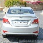 2015 Hyundai Verna diesel facelift rear end