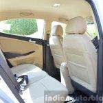 2015 Hyundai Verna diesel facelift rear seat