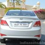 2015 Hyundai Verna diesel facelift rear