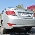 2015 Hyundai Verna diesel facelift reflector rear