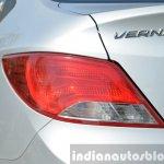 2015 Hyundai Verna diesel facelift taillights