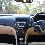 2015 Hyundai Verna petrol facelift interior