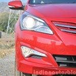 2015 Hyundai Verna petrol facelift lights