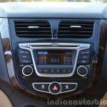 2015 Hyundai Verna petrol facelift music system