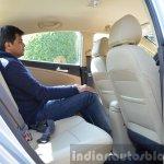 2015 Hyundai Verna petrol facelift rear legroom