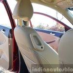 2015 Hyundai Verna petrol facelift rear seat lever