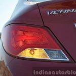 2015 Hyundai Verna petrol facelift taillight