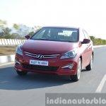 2015 Hyundai Verna petrol facelift tracking
