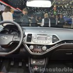 2015 Kia Picanto dashboard at 2015 Geneva Motor Show