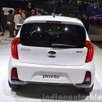 2015 Kia Picanto rear view at 2015 Geneva Motor Show