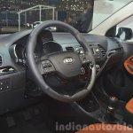 2015 Kia Picanto steering at 2015 Geneva Motor Show