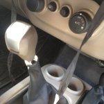 2015 Mahindra Thar spyshot gear lever