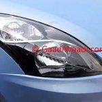 2015 Maruti Dzire facelift ZDi headlight spied
